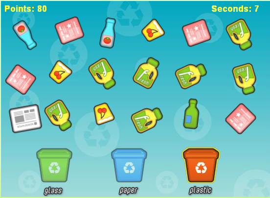 Super Recycle, un advergame pour trier les déchets | SeriousGame.be BQ18